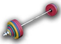 Штанга рекордная олимпийская 232,5 кг в наборе