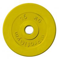 Диск тренировочный цветной Анат 15 кг (26, 31, 51 мм)