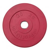 Диск тренировочный цветной Антат 25 кг (26, 31, 51 мм)