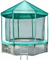 Батут OPTIFIT 10 FT (305 см) с зеленой крышей