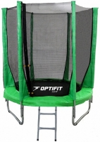 Каркасный батут OPTIFIT 6 FT (183 см) Зеленый