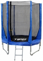 Каркасный батут OPTIFIT 8 FT (244 см) Синий