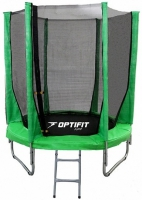 Каркасный батут OPTIFIT 8 FT (244 см) Зеленый