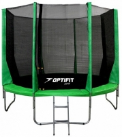 Каркасный батут OPTIFIT 10 FT (305 см) Зеленый