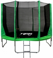 Каркасный батут OPTIFIT 12 FT (366 см) Зеленый
