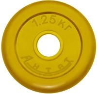 Диск тренировочный цветной Антат 1,25 кг (26, 31, 51 мм)