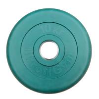 Диск тренировочный цветной Антат 10 кг (26, 31, 51 мм)