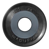 Диск олимпийский 1,25 кг, черный