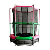 """Батут DFC JUMP KIDS 55""""; зелено-розовый (137 см)"""