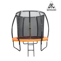 Батут DFC TRAMPOLINE KENGOO II с сеткой 8FT-BAS-BO (244 см)