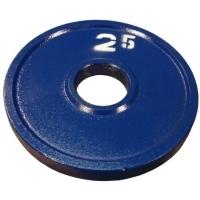 """Диск стальной """"Powerlifting"""" с полимерным покрытием, 2,5 кг"""