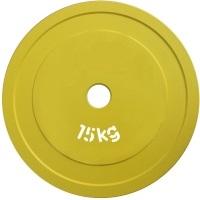 """Диск стальной """"Powerlifting"""" с полимерным покрытием, 15 кг"""