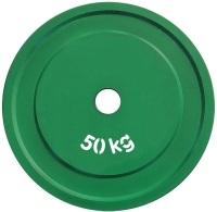 """Диск стальной """"Powerlifting"""" с полимерным покрытием, 50кг"""