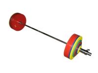 Штанга рекордная для пауэрлифтинга,  332,5 кг в наборе