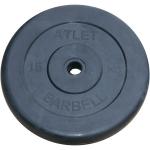 Диск черный MB Barbell Atlet 15 кг 26 мм