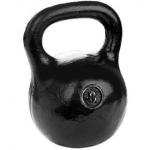 Черная тренировочная гиря 8 кг