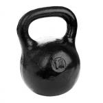 Черная тренировочная гиря 10 кг
