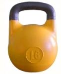 Гиря соревновательная желтая 16 кг