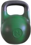 Гиря соревновательная зеленая 24 кг