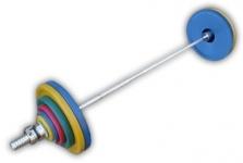Штанга рекордная олимпийская 132,5 кг в наборе