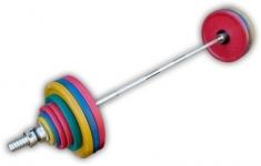 Штанга рекордная олимпийская 192,5 кг в наборе