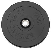 Диск черный Sportcom 10 кг 26 мм