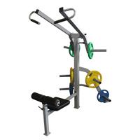 Вертикальная тяга (Свободный вес)