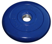 Диск тренировочный черный Profigym 2,5 кг (26, 31, 51 мм)