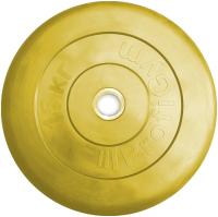 Диск тренировочный черный Profigym 15 кг (26, 31, 51 мм)