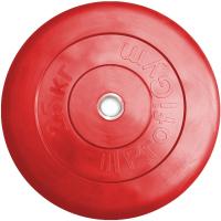 Диск тренировочный черный Profigym 25 кг (26, 31, 51 мм)